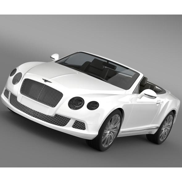 Bentley Continental GTC 2011 - 3DOcean Item for Sale