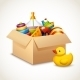 Toys in /box - GraphicRiver Item for Sale
