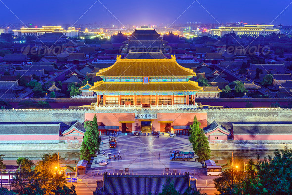 Beijing Imperial City - Stock Photo - Images