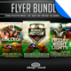 Ultimate Football Flyer Template Bundle 2014 - GraphicRiver Item for Sale