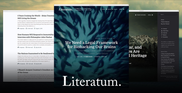 Literatum - Just Write