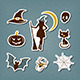 Halloween Stickers Set - GraphicRiver Item for Sale