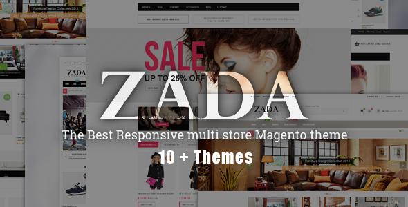ZADA – Ultimate Responsive Magento Theme