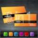 Professional Evo Series #1 Business Card - GraphicRiver Item for Sale