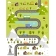 Cartoon Map of Town - GraphicRiver Item for Sale