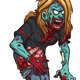 Walking Zombie - GraphicRiver Item for Sale