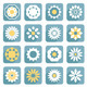 Set of Flower Flat Icons - GraphicRiver Item for Sale