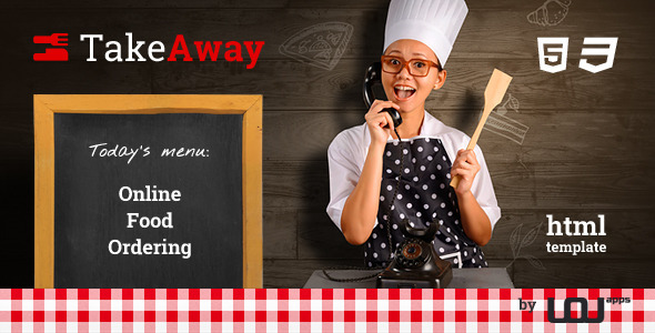 TakeAway - Restaurant & Online Food Ordering - Food Retail