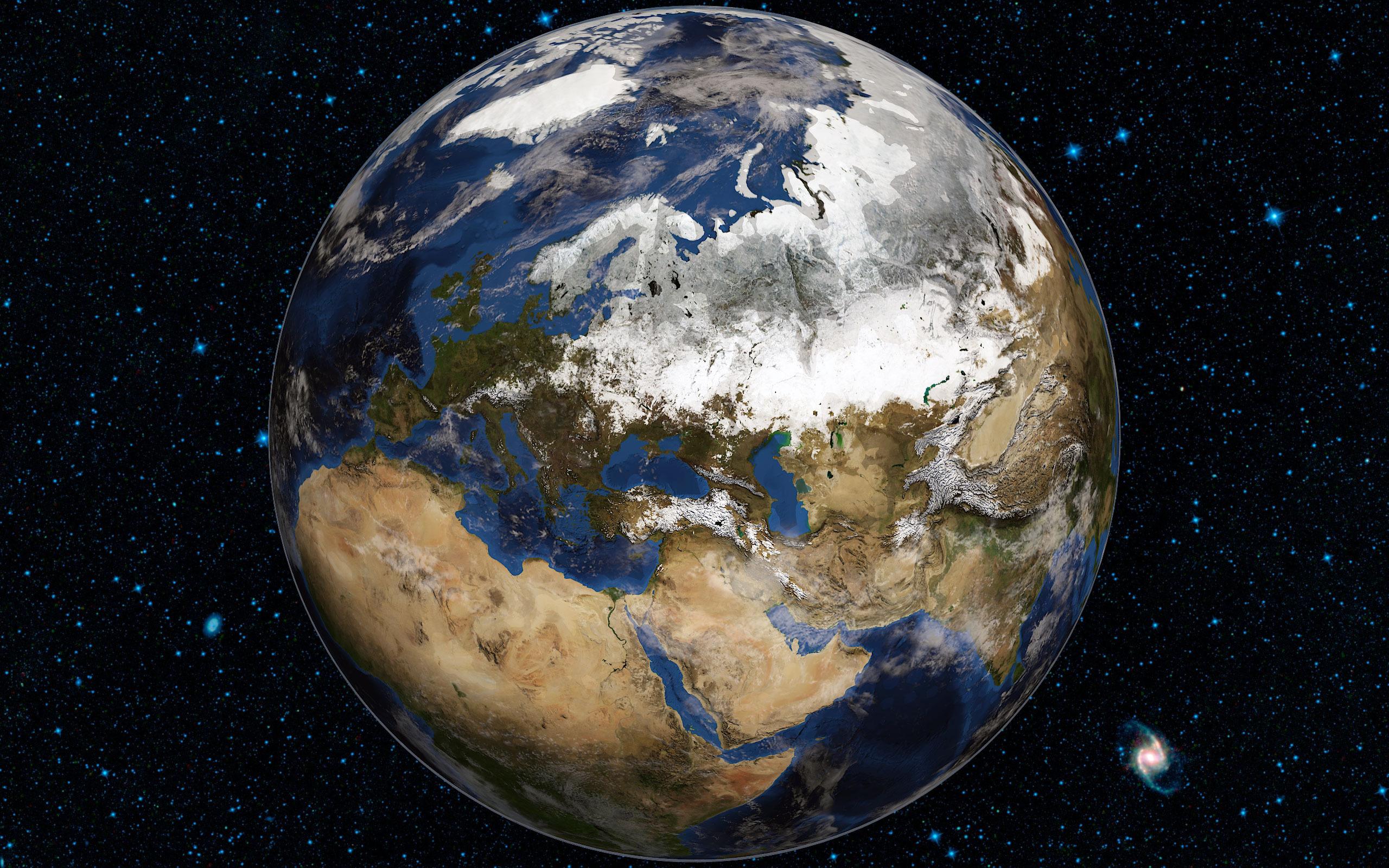 Realistic 3D World Globe by metyus | 3DOcean