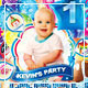 Babies Kids Birthday Party Template - GraphicRiver Item for Sale