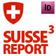 Swiss Style Annual Report // Magazine // A4 - GraphicRiver Item for Sale
