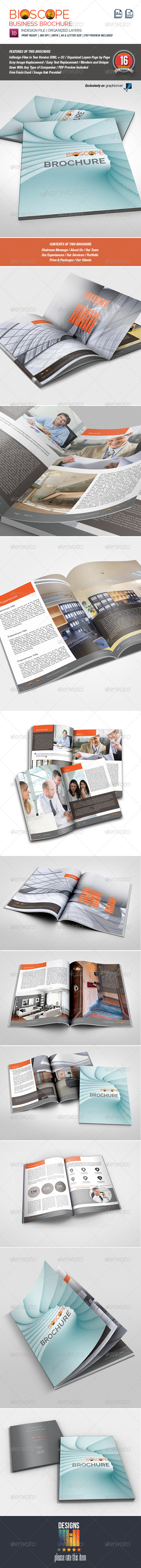 Bioscope Multipurpose Brochure - Corporate Brochures