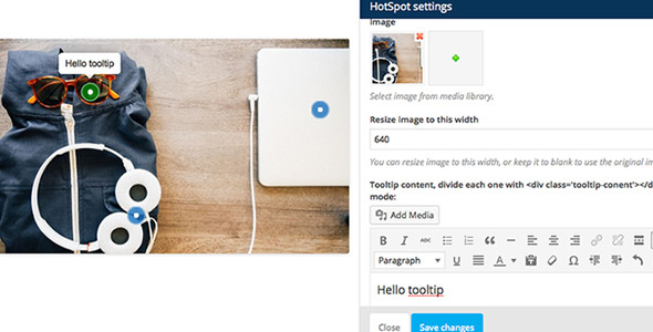 Visual Composer Add-on Image Hotspot with Tooltip - CodeCanyon Item for Sale