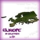 World Geo Map - Europe - 3DOcean Item for Sale
