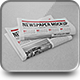 Newspaper Mock-up - GraphicRiver Item for Sale