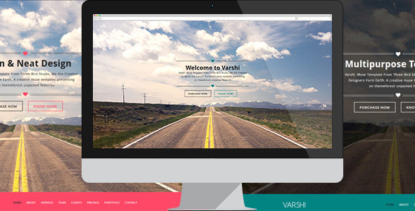 Varshi | Multi-Purpose Muse Template