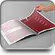 Photorealistic A4 Brochure Mock-up