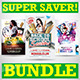 Back to School Party Super Bundle - GraphicRiver Item for Sale