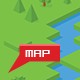 Isometric Cube Map Builder Kit + USA Map - GraphicRiver Item for Sale