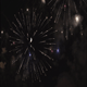 Fireworks Against Half Moon - VideoHive Item for Sale
