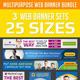 Multipurpose Web Banner Ad Design Set Bundle - GraphicRiver Item for Sale