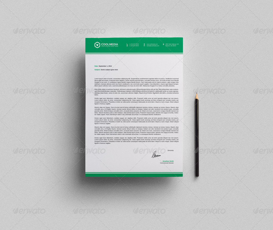 Corporate Letterhead Vol With Ms Word DocDocx By Nazdrag