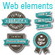 Vector Web Design Banners and Elements - GraphicRiver Item for Sale