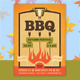 Barbecue Hipster Flyer Template - GraphicRiver Item for Sale