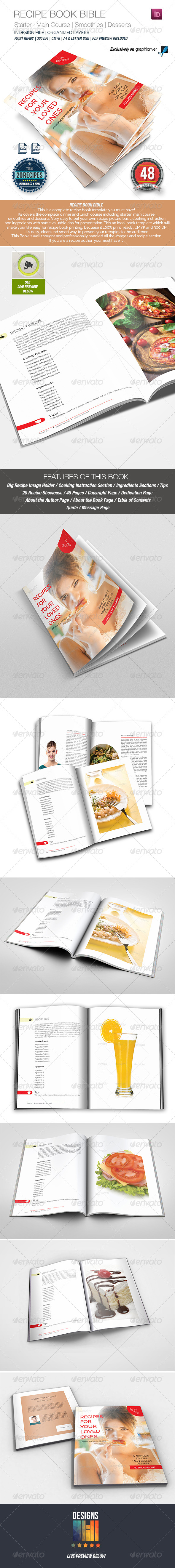 Recipe Book - Informational Brochures