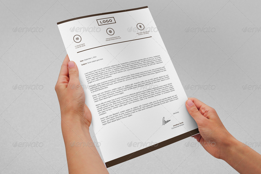 modern letterhead vol20 with ms word docdocx