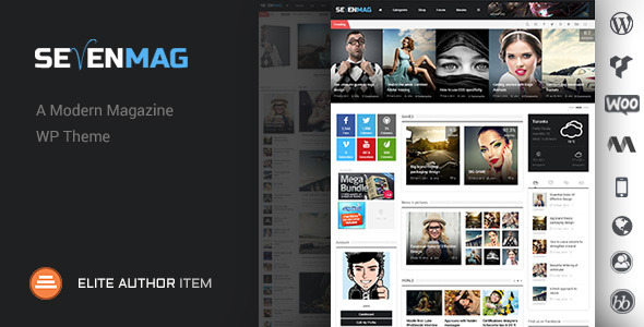 SevenMag – Blog/Magzine/Games/News WordPress Theme
