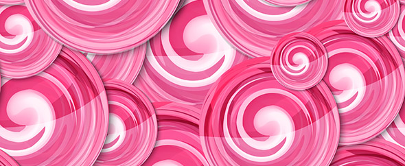 Rastr background lollipop seamless