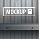 12 Shelf Mockups Set - GraphicRiver Item for Sale