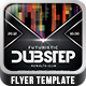 Futuristic Dubstep Flyer Template - GraphicRiver Item for Sale