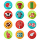 American Football Icons - GraphicRiver Item for Sale
