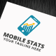 Mobile Stats Logo Template - GraphicRiver Item for Sale