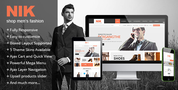 Nik – Responsive Magento Fashion Theme