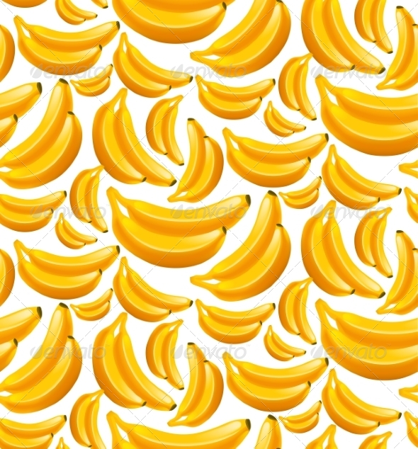 Banana Background by macrovector | GraphicRiver