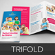 Education School Trifold Brochure Template v2  - GraphicRiver Item for Sale