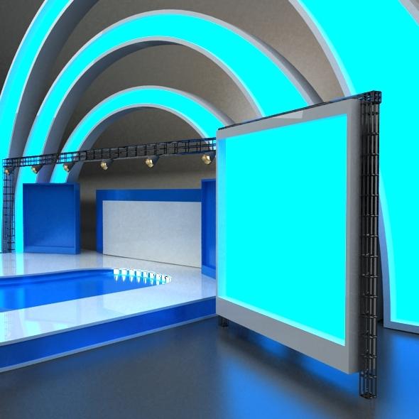 Exhibition Stage By Vanshocker 3docean