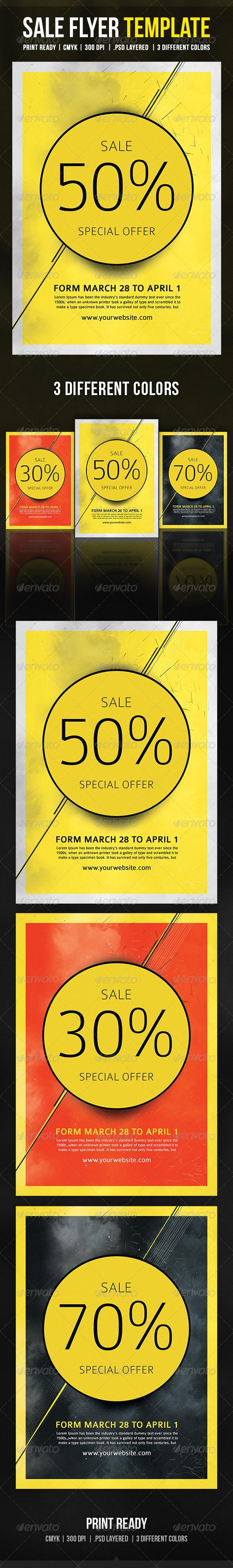 Sale Flyer Template - Commerce Flyers