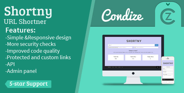 Shortny - The URL Shortener - CodeCanyon Item for Sale