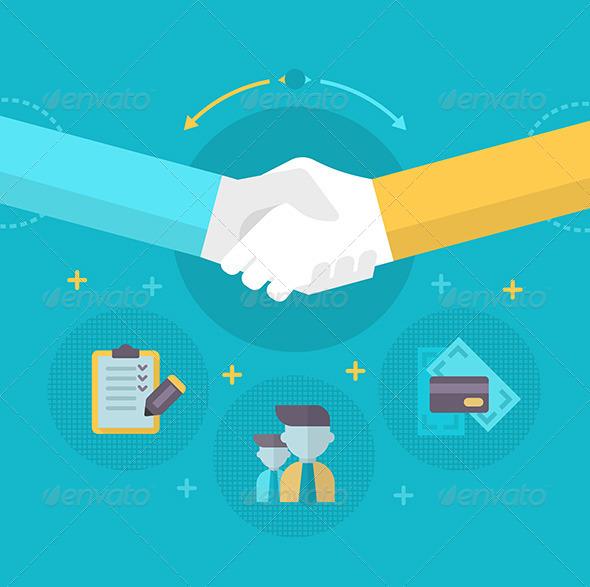 Handshake - Concepts Business