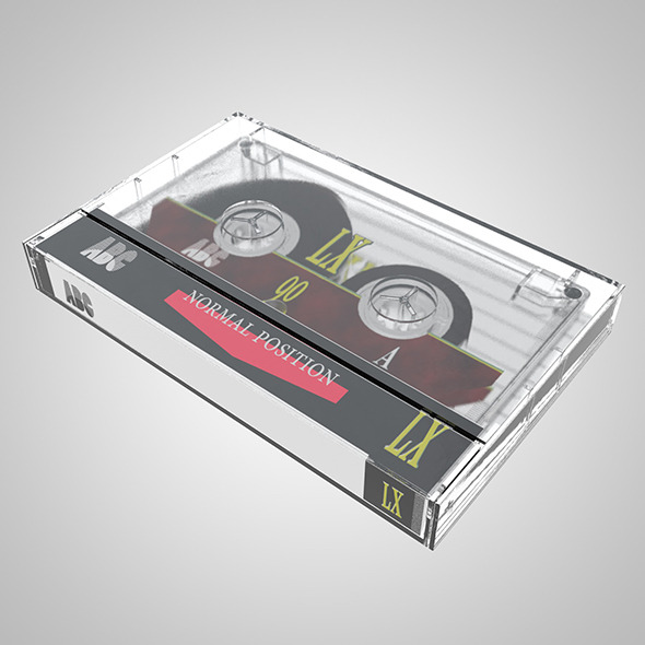 Compact Cassette - 3DOcean Item for Sale