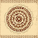 Decorative Circle Card Background - GraphicRiver Item for Sale