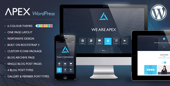 Apex - Responsive WordPress Theme - Business Corporate