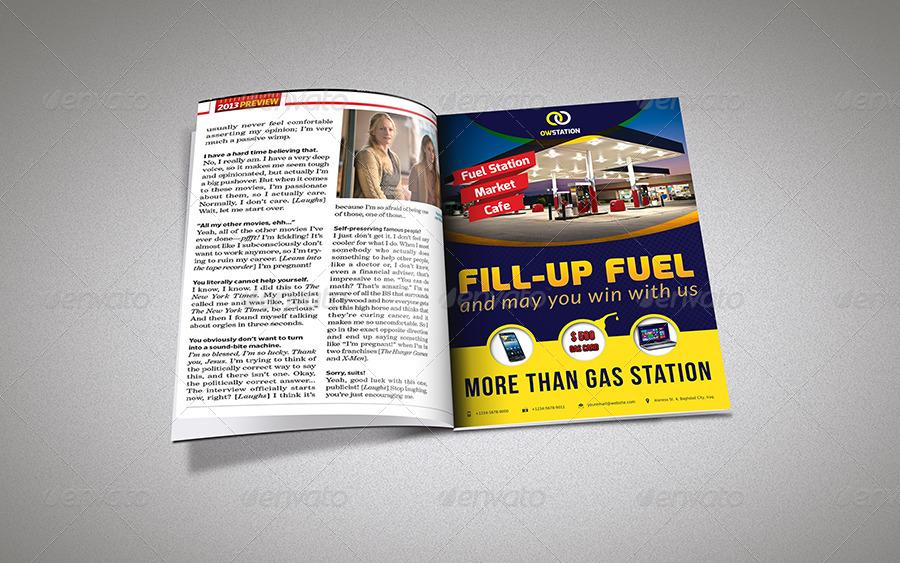 Gasoline Template