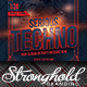 Serious Techno Nightclub Event Flyer Template - GraphicRiver Item for Sale