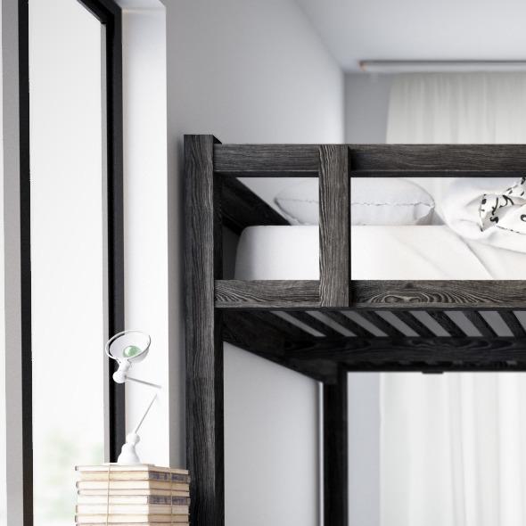 Ikea Black Wood - 3DOcean Item for Sale