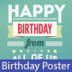 Poster Happy Birthday - GraphicRiver Item for Sale